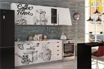 Заказать Кухня 1.8 Кофе тайм белый фото БЕЗ посредников!