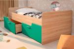 Детская кровать Умка бирюза металик