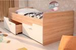 Детская кровать Умка белый глянец