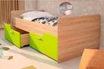 Детская кровать Умка лайм глянец