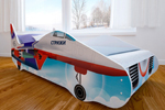 Заказать Детская кровать с фотопечатью Истребитель БЕЗ посредников!