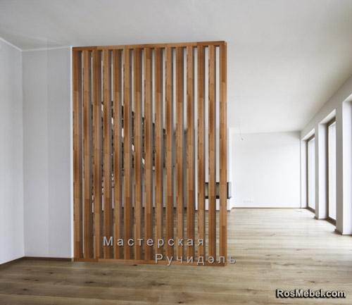 Перегородка Vertical Wood classic tofee