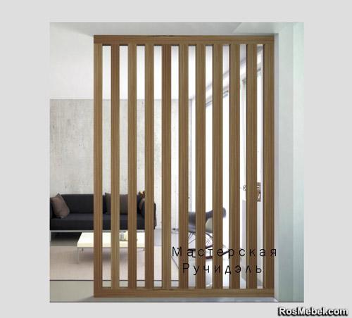 Перегородка Vertical Wood classic