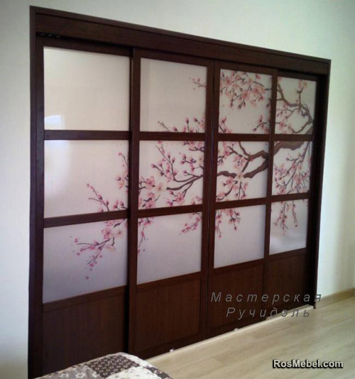 Перегородка раздвижная Japan Art Sakura