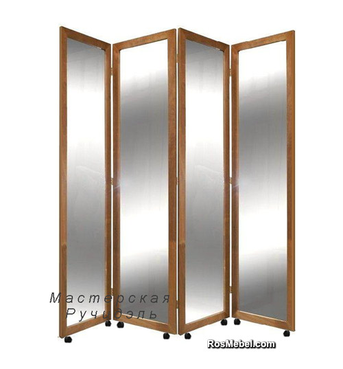 Ширма зеркальная Valeri Mirror на колесиках