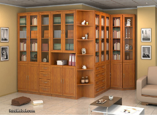 Набор для кабинета, библиотеки Гарун N3
