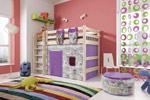 Заказать Полувысокая кровать Соня с прямой лестницей вариант 5 БЕЗ посредников!