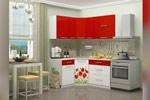 Угловая кухня Маки 1,33*1,63см