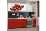 Кухня ЛДСП с фотопечатью Вишня 2,0 м