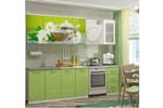 Кухня МДФ с фотопечатью Ванильный чай 2,0 м