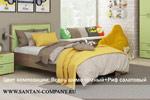Заказать Кровать Лотос КР-805 90х200 БЕЗ посредников!