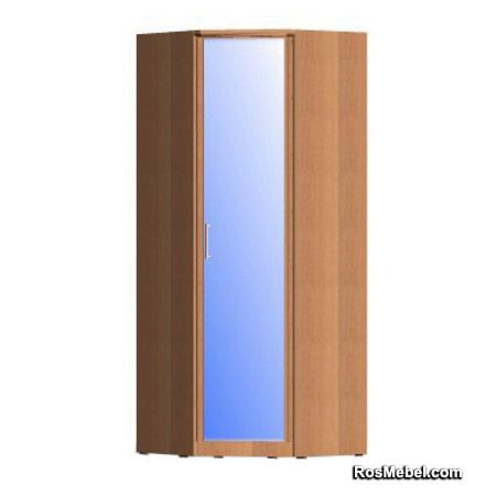 Шкаф угловой Мальвина N12 зеркальный