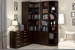 Шкаф угловой библиотека