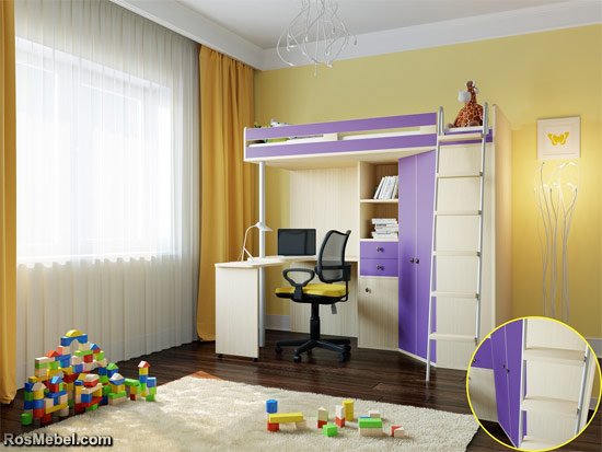 Кровать Чердак М85
