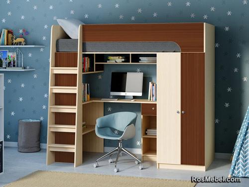 Кровать чердак Астра 10