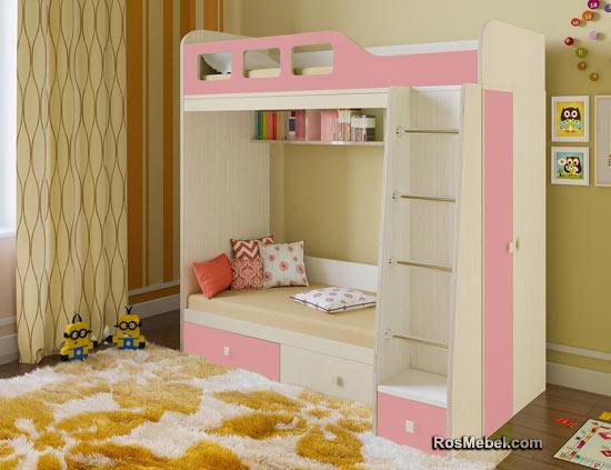Двухъярусная кровать Астра-3