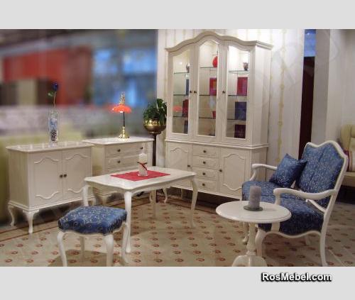 гостиная Barok white