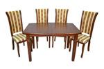 Стол обеденный раскладной со стульями