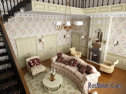 Оформить интерьер квартиры в стиле прованс