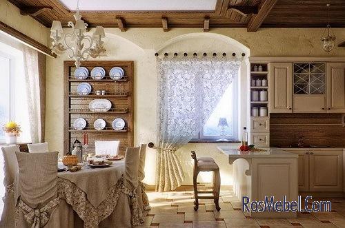 Мебель в стиле французской деревни