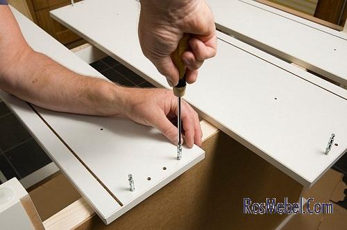 Реставрация корпусной мебели на дому