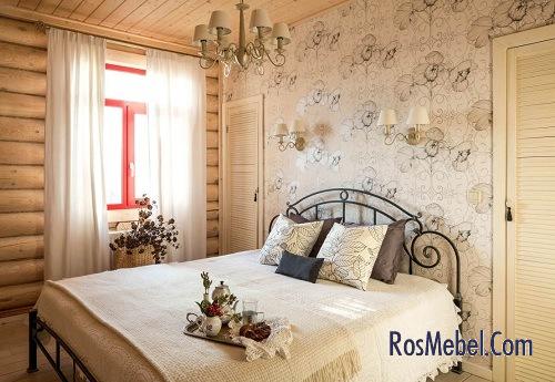 Маленькая спальня в прованс-стиле