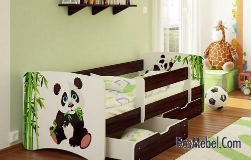Яркие дизайнерские решения помогут ребенку развиваться